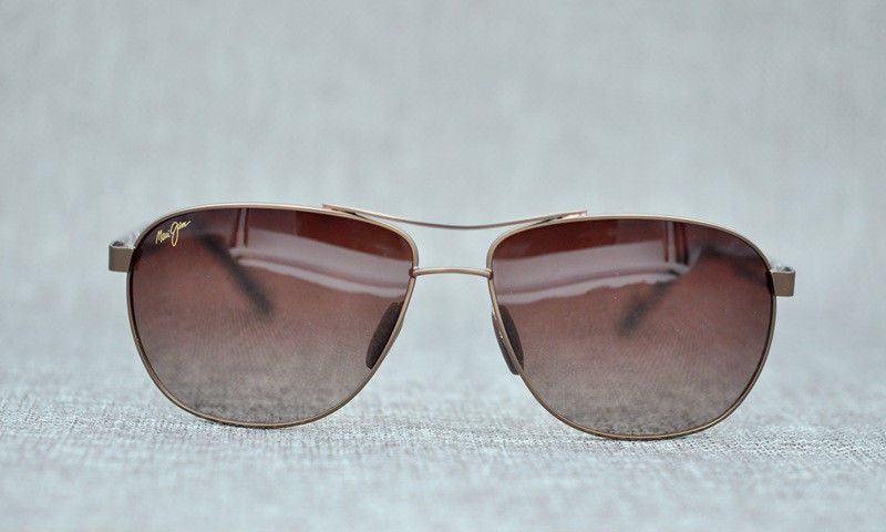 5f54d4756bac MAUI JIM Sunglasses CASTLES MJ 728 Gold Aviator Frame HCL Bronze Polarized  Lens #fashion #clothing #shoes #accessories #mensaccessories ...