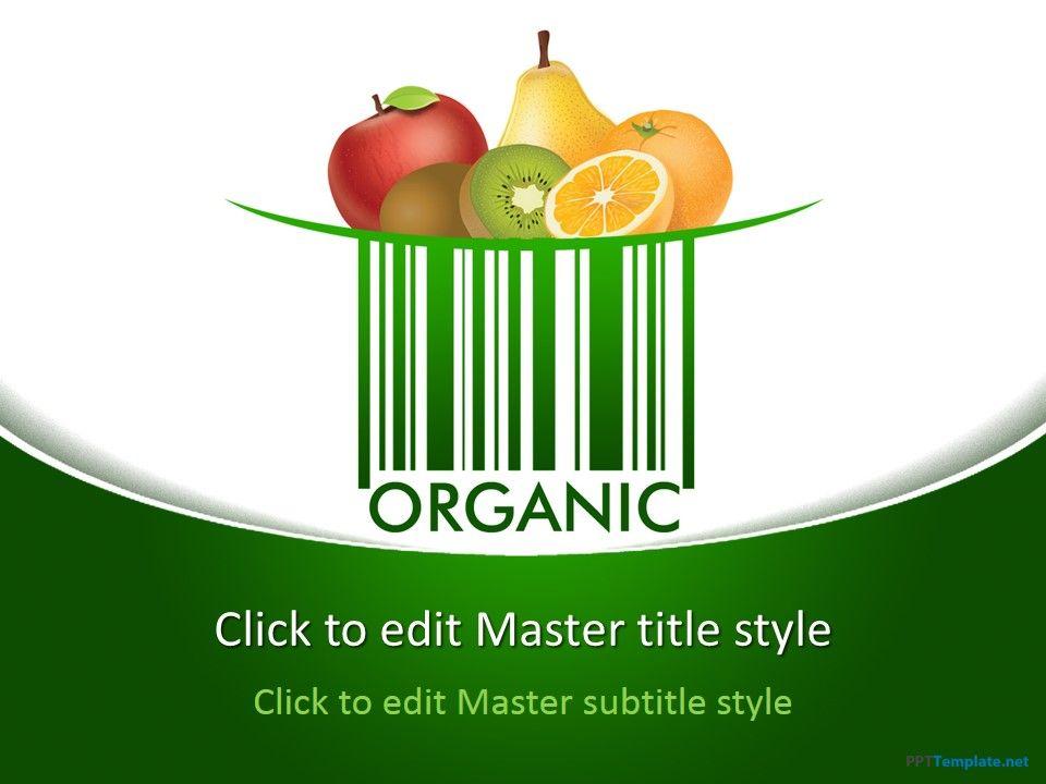 free organic ppt template | food ppt templates | pinterest | ppt, Modern powerpoint