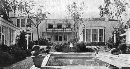Joan Crawford S Home Joan Crawford Hollywood Homes Celebrity Houses
