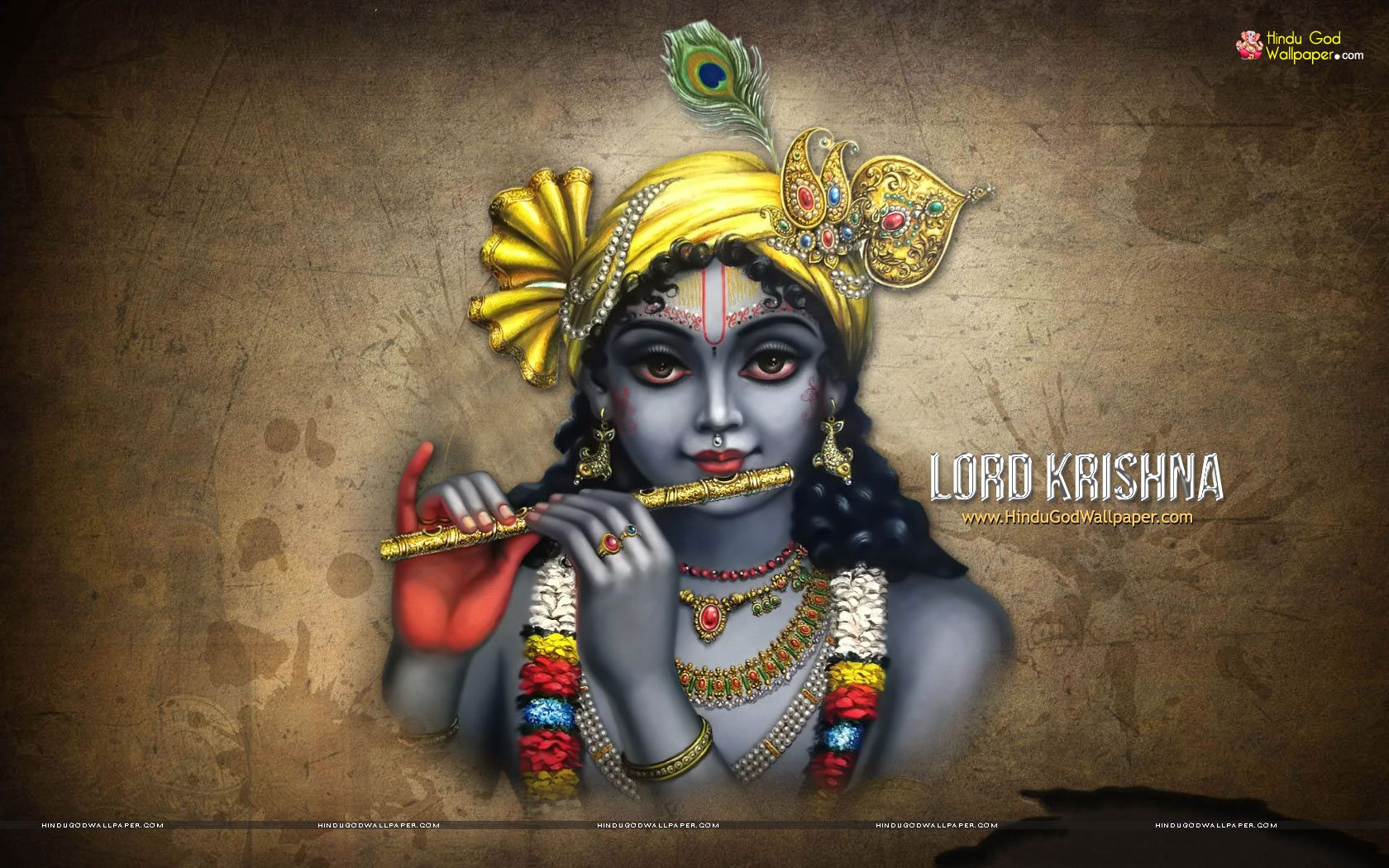 Radhe Krishna Wallpaper With Quotes 1680x1050 Shree Krishna Hd Wallpaper Free Download Харе