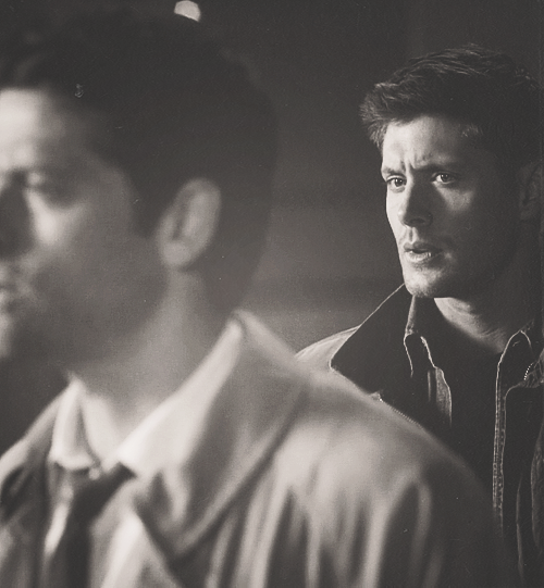 Supernatural. The shell shocked relationship between Dean and Cas