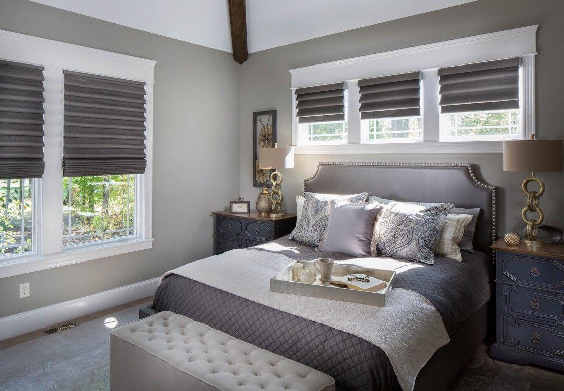 Window Treatments That Don T Hide Trim Drapery Street Restful Bedrooms Master Bedroom Window Treatments Window Treatments Bedroom