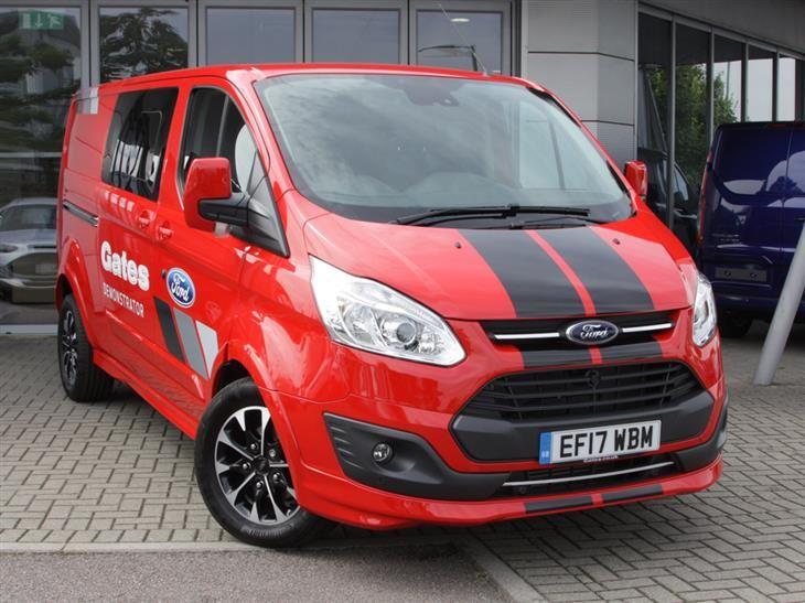 Used 2017 Ford Transit Custom 290 L2 Dciv 2 0 Tdci Sport 170ps For