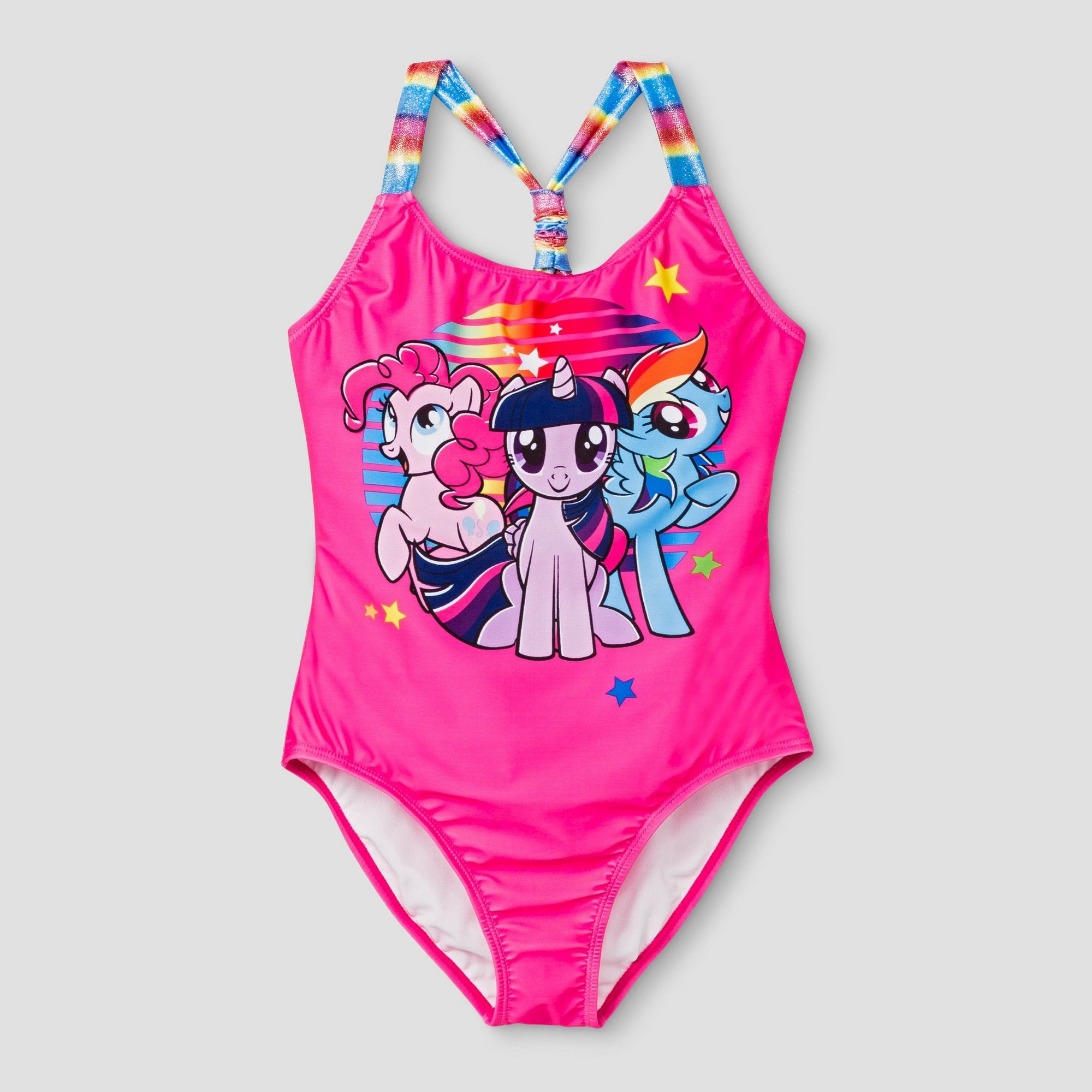 2f39abbe7 Girls  My Little Pony One Piece Swimsuit M - Pink
