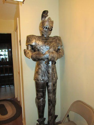7 Foot Suit Of Armor Medieval Knight From Home Goods