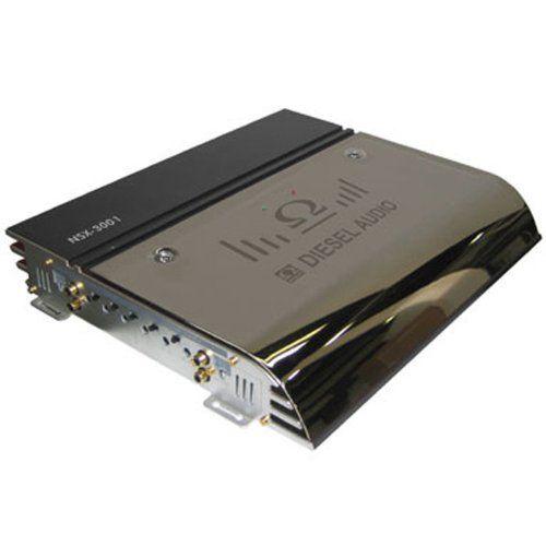 Diesel Audio Nsx 3001 Chrome Mosfet 3000watt Monoblock Crossover Car Amplifier By Diesel 113 78 Monoblock Mosfet Cros Car Amplifier Crossover Cars Amplifier