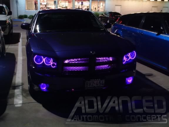 Ccfl Grill Illumintion Tubes From Aac Pics And Info Inside Purple Car Dodge Charger Car