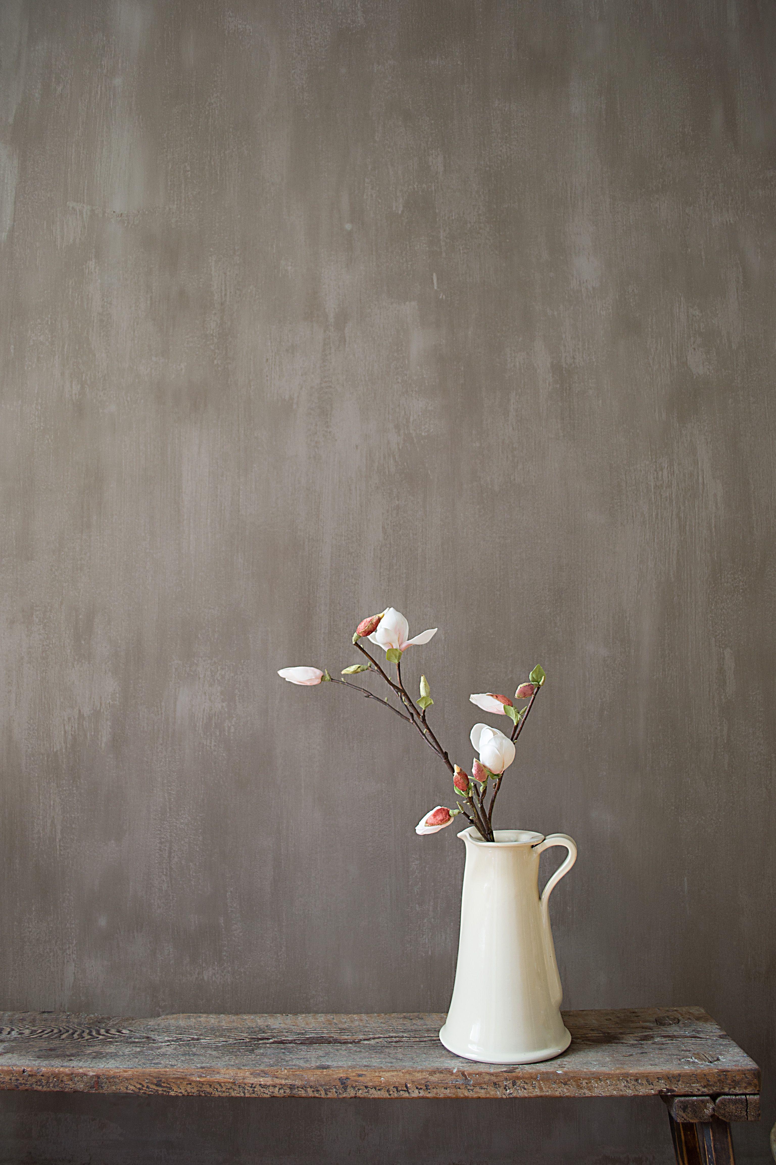 Pure original fresco lime paint color drift photo - Painting interior concrete walls ...