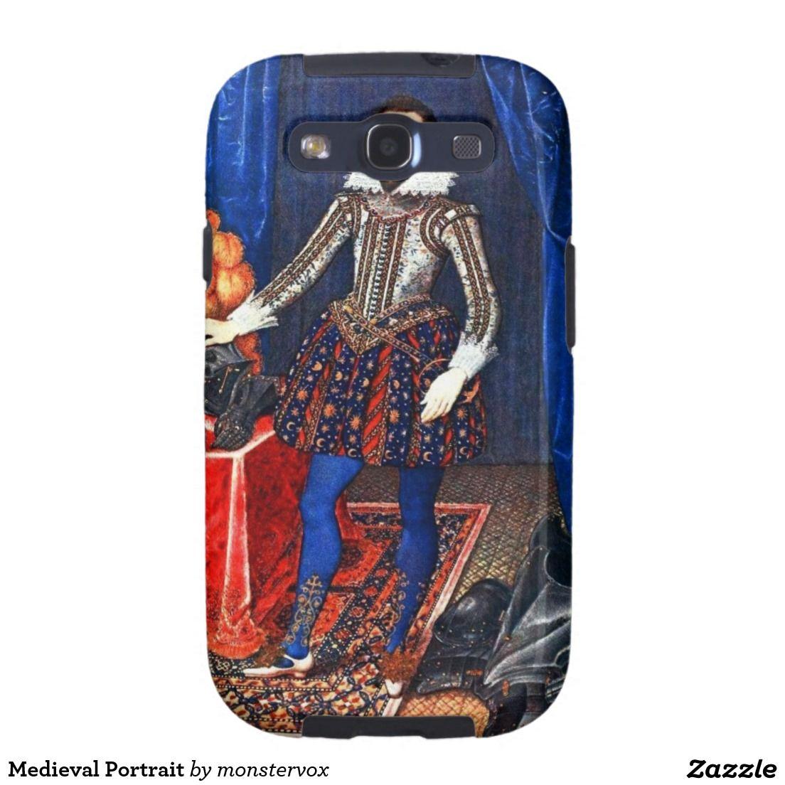 Medieval Portrait Galaxy SIII Cases Medieval Portrait