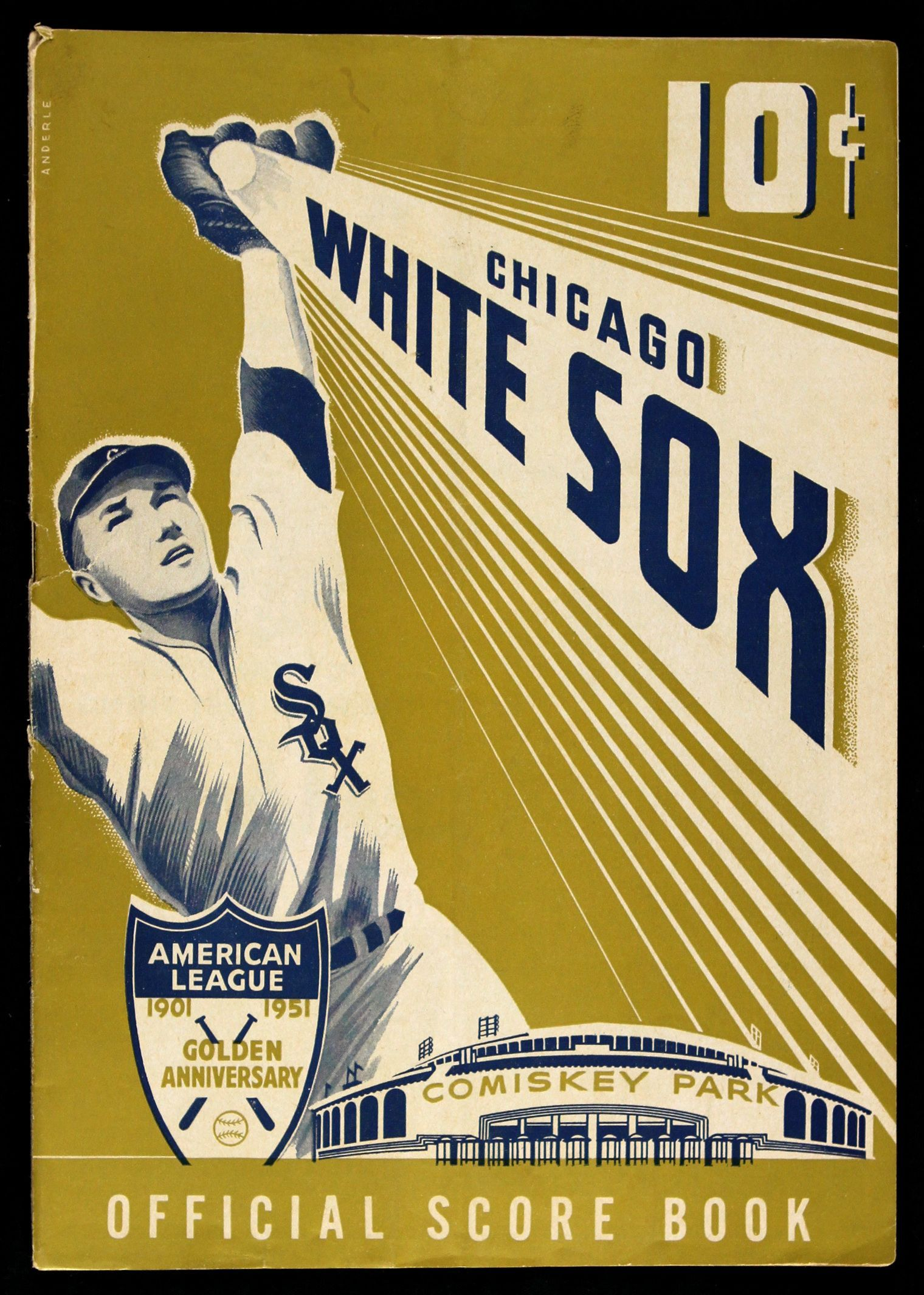 951 Chicago White Sox New York Yankees program | Baseball ...