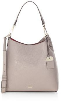 8d70a8303089 Kate Spade New York Mariel Cityscape Leather Shoulder Bag Versatile  shoulder bag in large pebbled leather. Removable top handle, 8.5