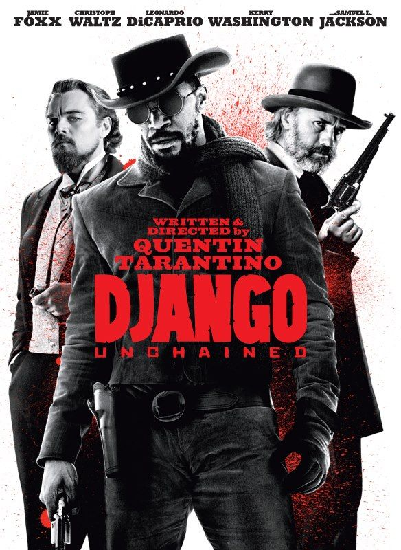 """Django Unchained"", dark comedy western by Quentin Tarantino (USA, 2012)"
