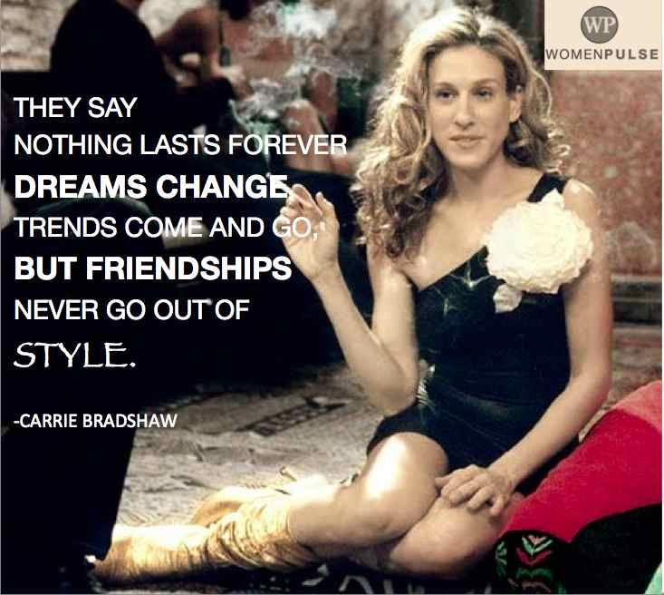 Carrie bradshaw quotes and online dating