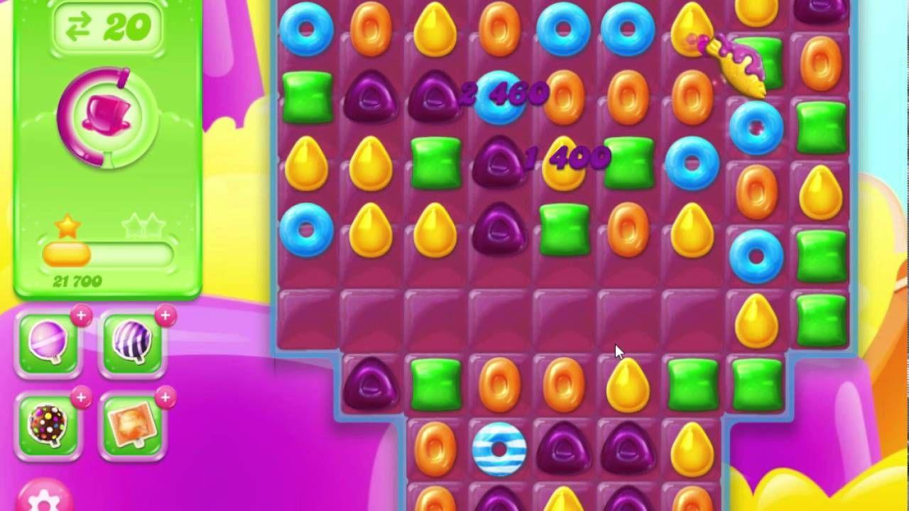 Candy Crush Jelly Saga Level 181 Gameplay Candy crush