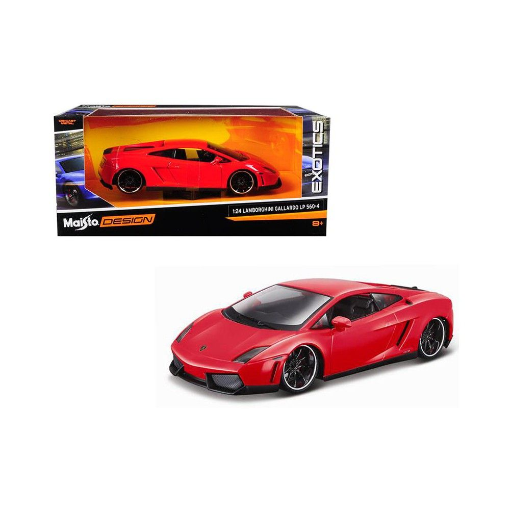 Lamborghini Gallardo Lp 560 4 Red Exotics 1 24 Diecast Model Car By Maisto Lamborghini Gallardo Car Lamborghini