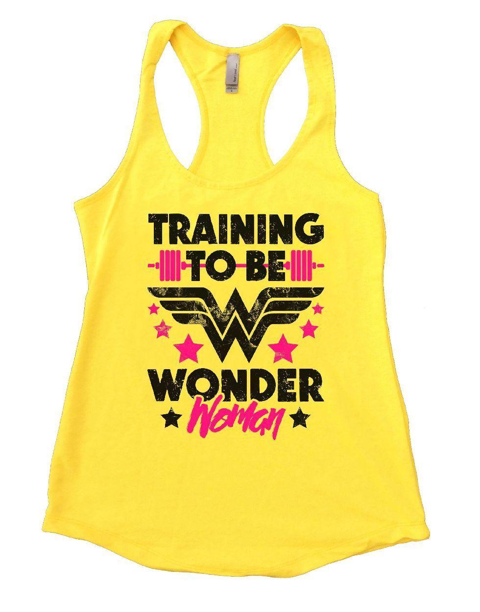 Training To Be Wonder Woman Women/'s Vest