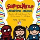 Superheroes are sure to motivate your students during Literature Circles!   What's included:  * Spiderman the Summarizer Poster & 2 Task Sheets...