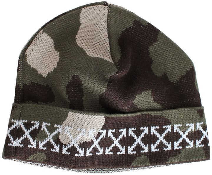 Off-White Camouflage Arrows Beanie