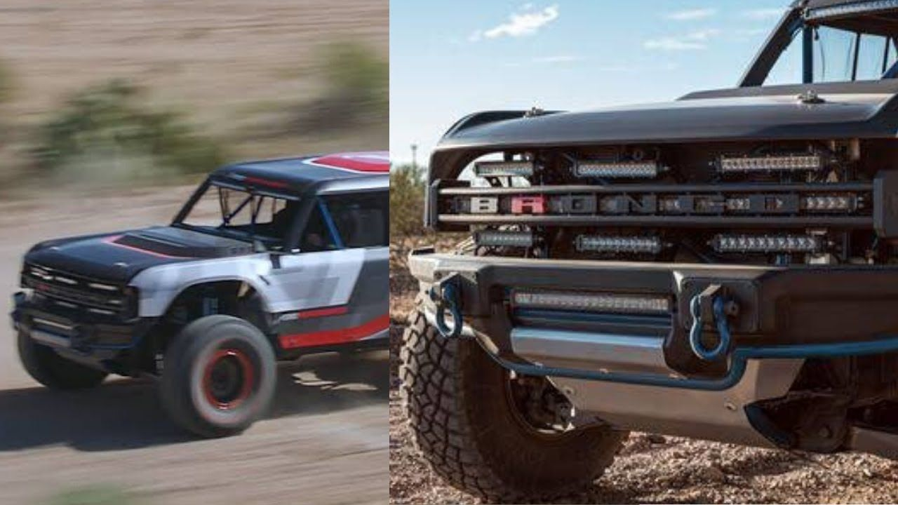 2020 Ford Bronco R Race Ford bronco