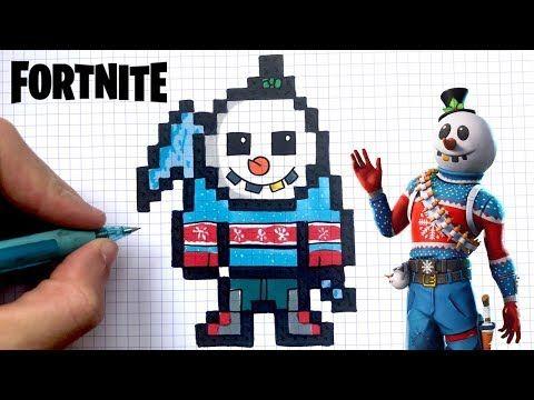 Chadessin Pixel Art Fortnite Youtube Pixel Art Minecraft Pixel Art Youtube Art