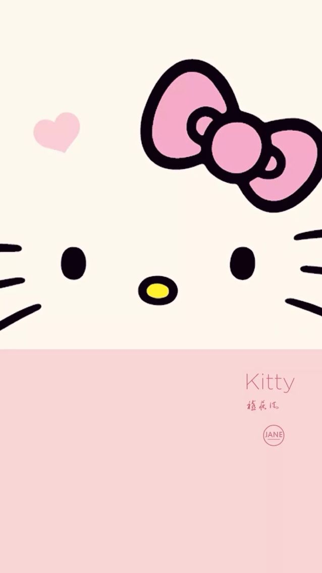 Hello kitty wallpaper phone wallpapers pinterest foto hello kitty wallpaper altavistaventures Images