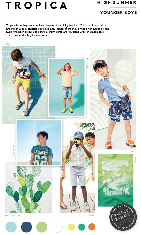 Spring | Summer 2017 - Tropica - Younger Boys