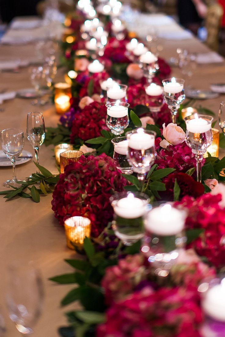 Burgundy Wedding Theme | Wedding Ideas By Colour | CHWV #christmasweddingideas