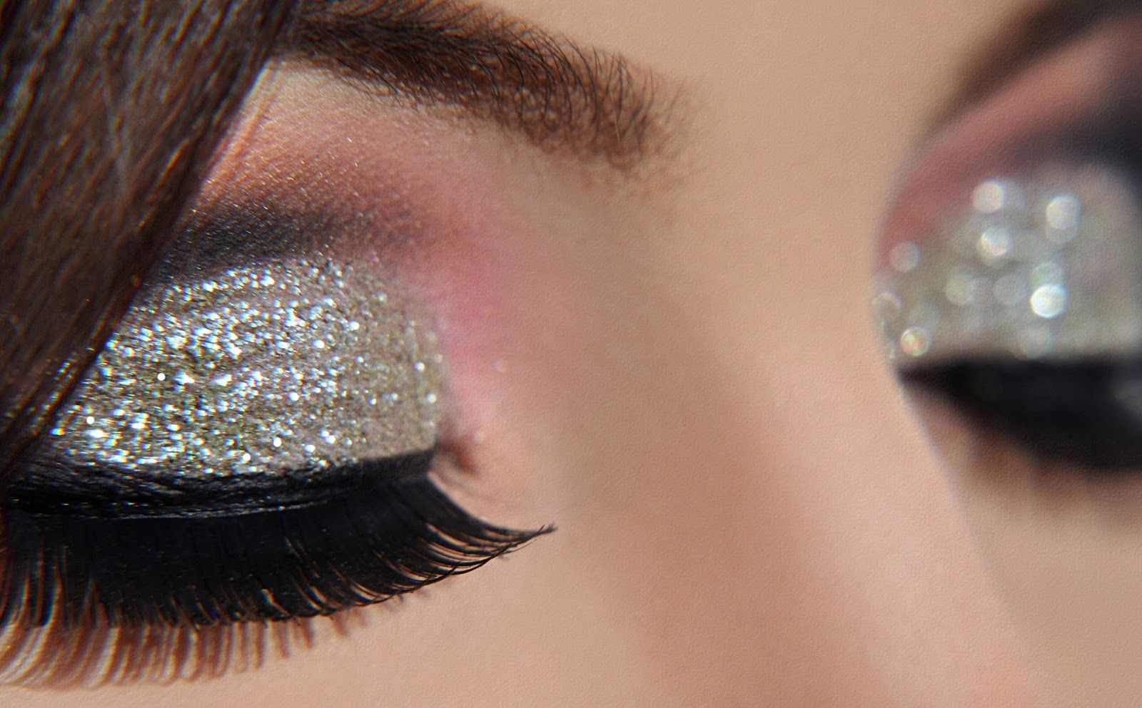 Glitter Eye Makeup Google Search Creative References Glitter