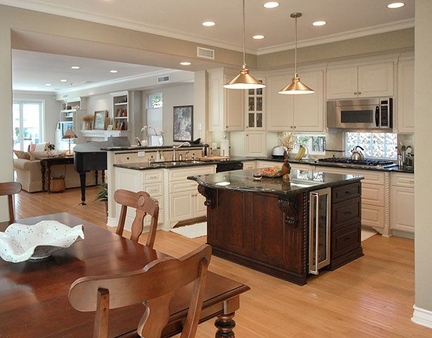 Expand Kitchen Into Dining Room