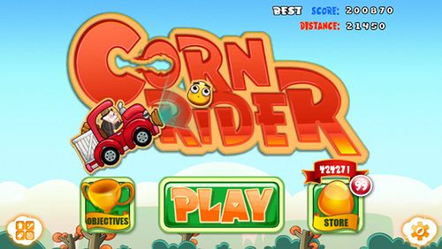 The awesome IOS game Corn Rider