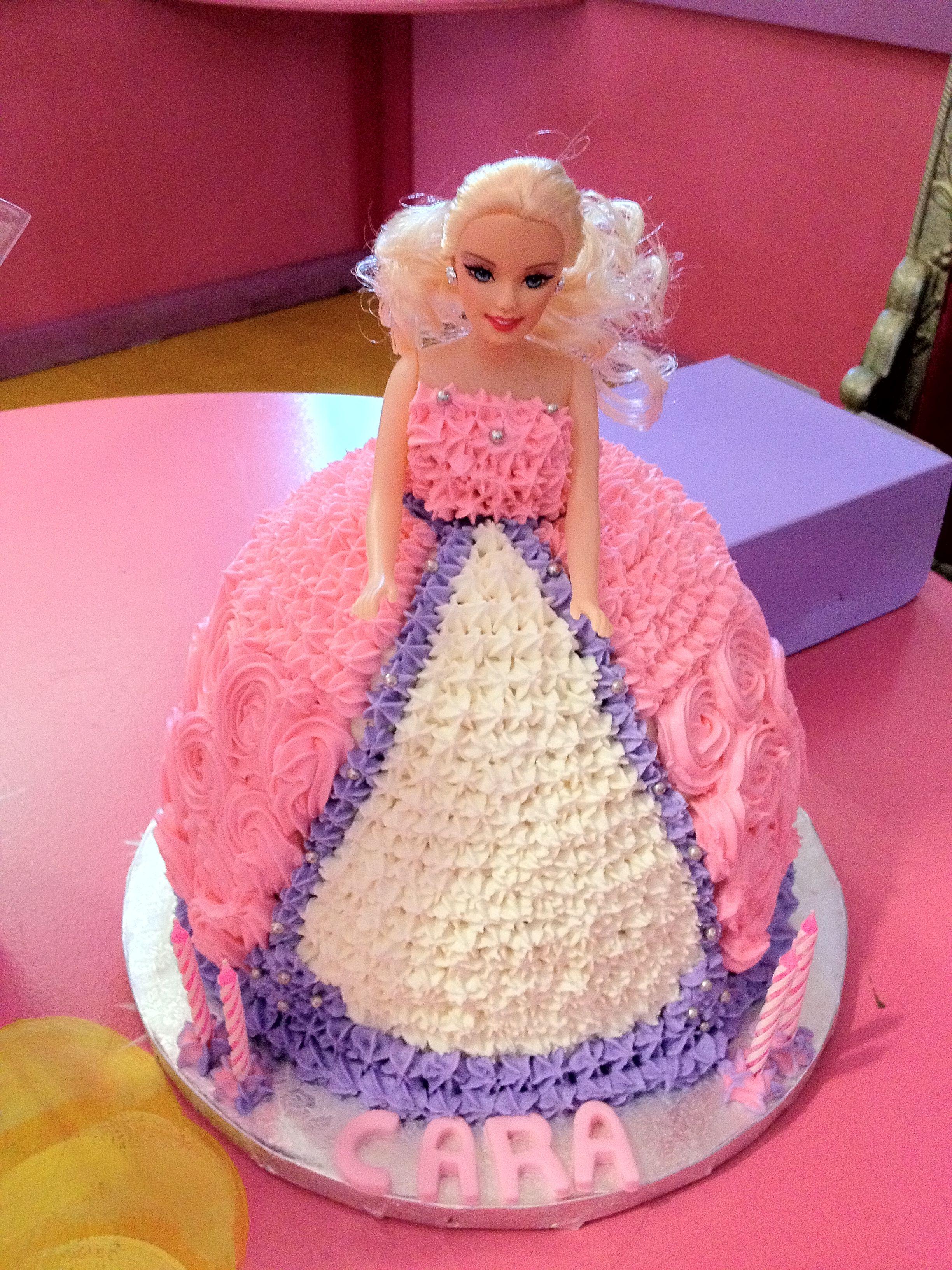 Cakes Barbie Kids party decor Bugzplaypark Cape Town Haileys
