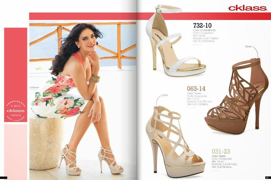 Catalogo cklass calzado dama primavera cklass fashion for Zapatos por catalogo