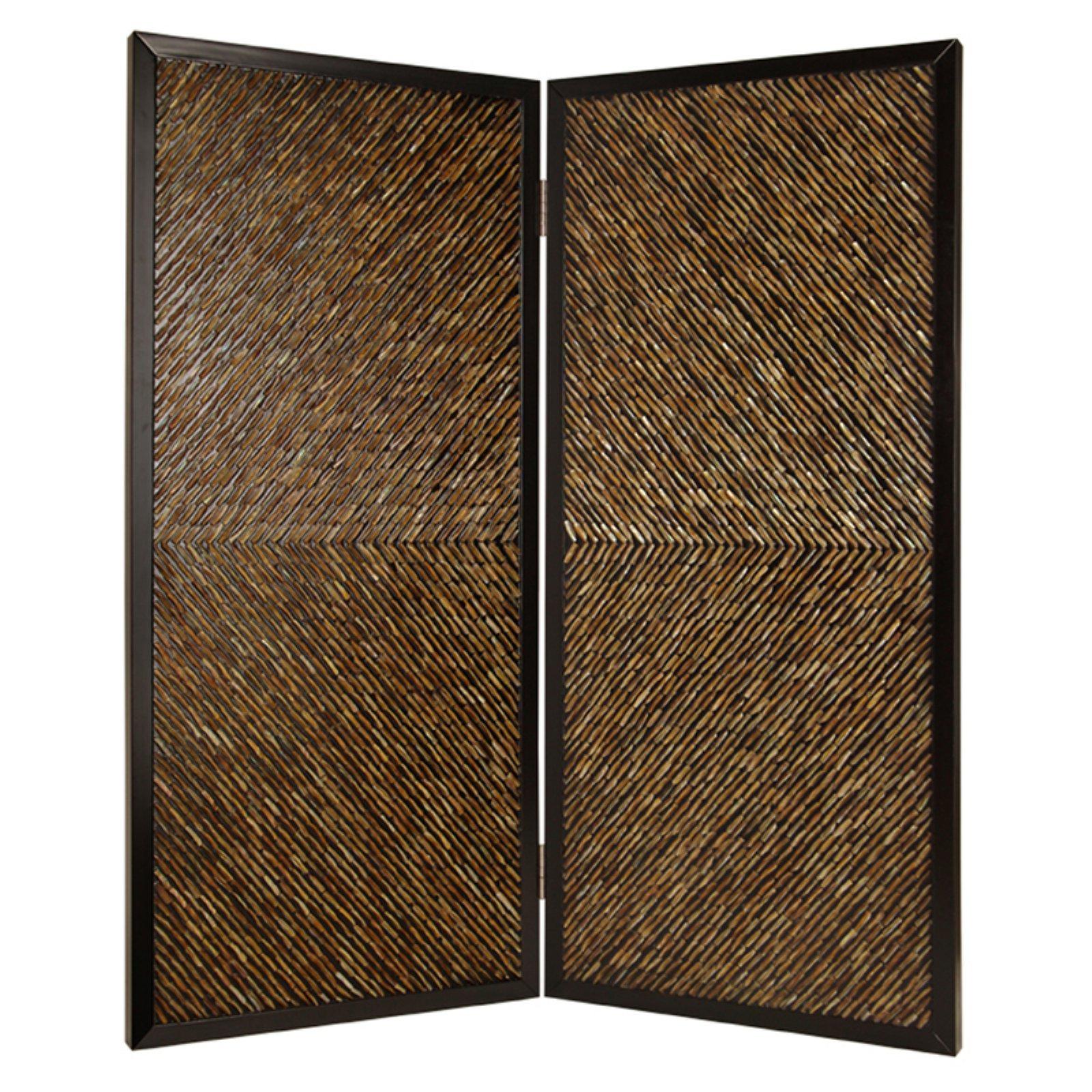 Screen Gems Anacapa Hand Made Abalone Shell 2 Panel Room