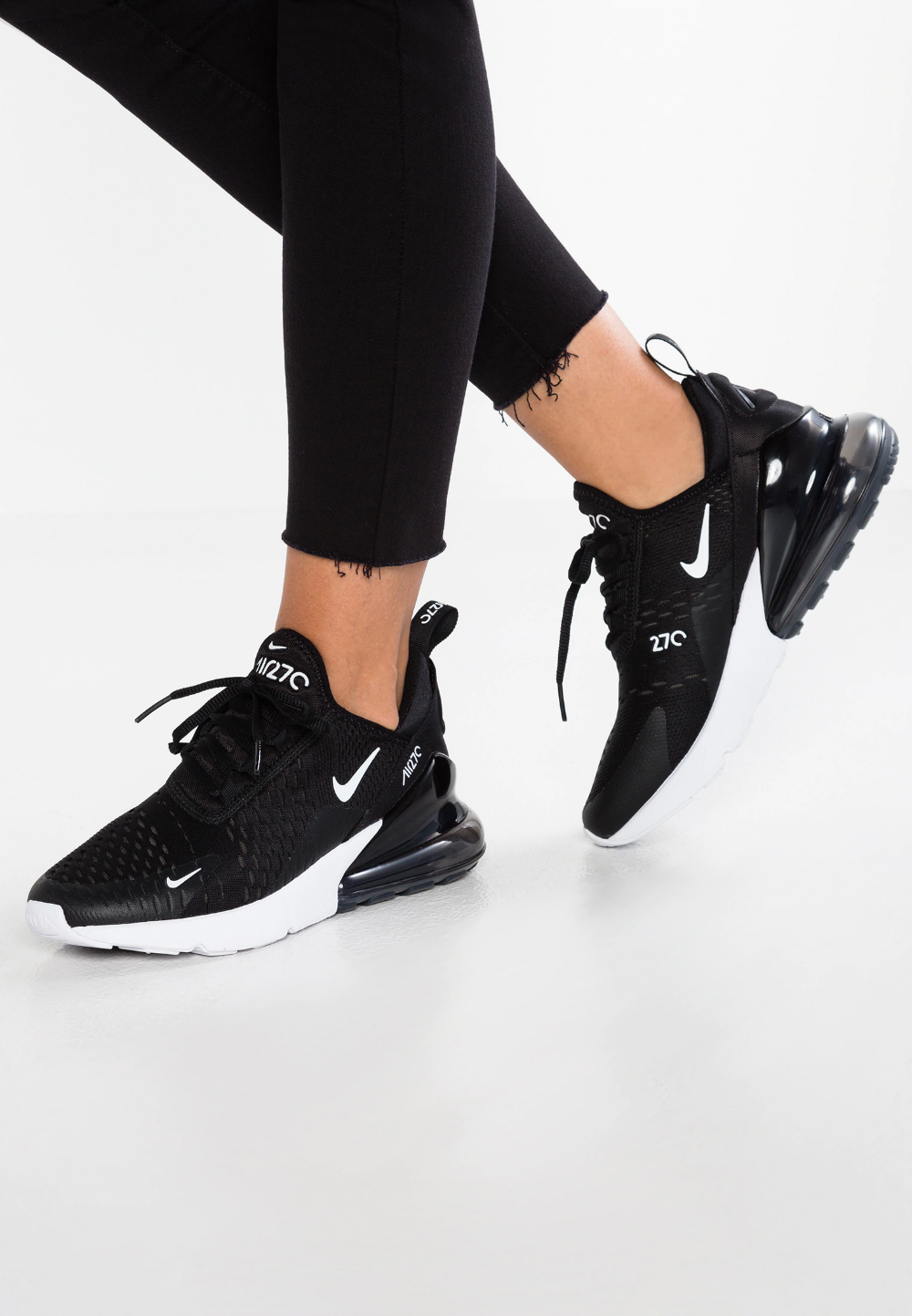 AIR MAX 270 - Baskets basses - black/anthracite/white ...