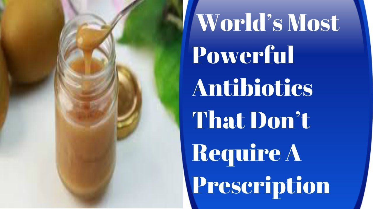 World's Most Powerful Antibiotics That Don't Require A Prescription. *******************************************************************. Writers: Become a Home