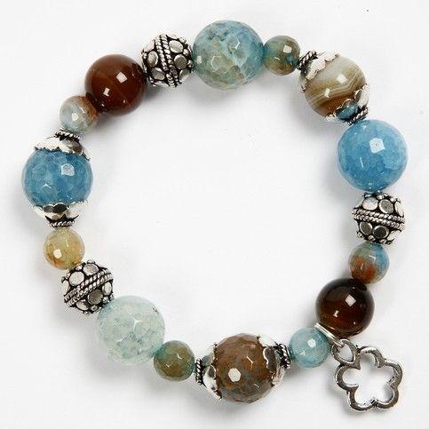 Luxury Beads on a Bracelet