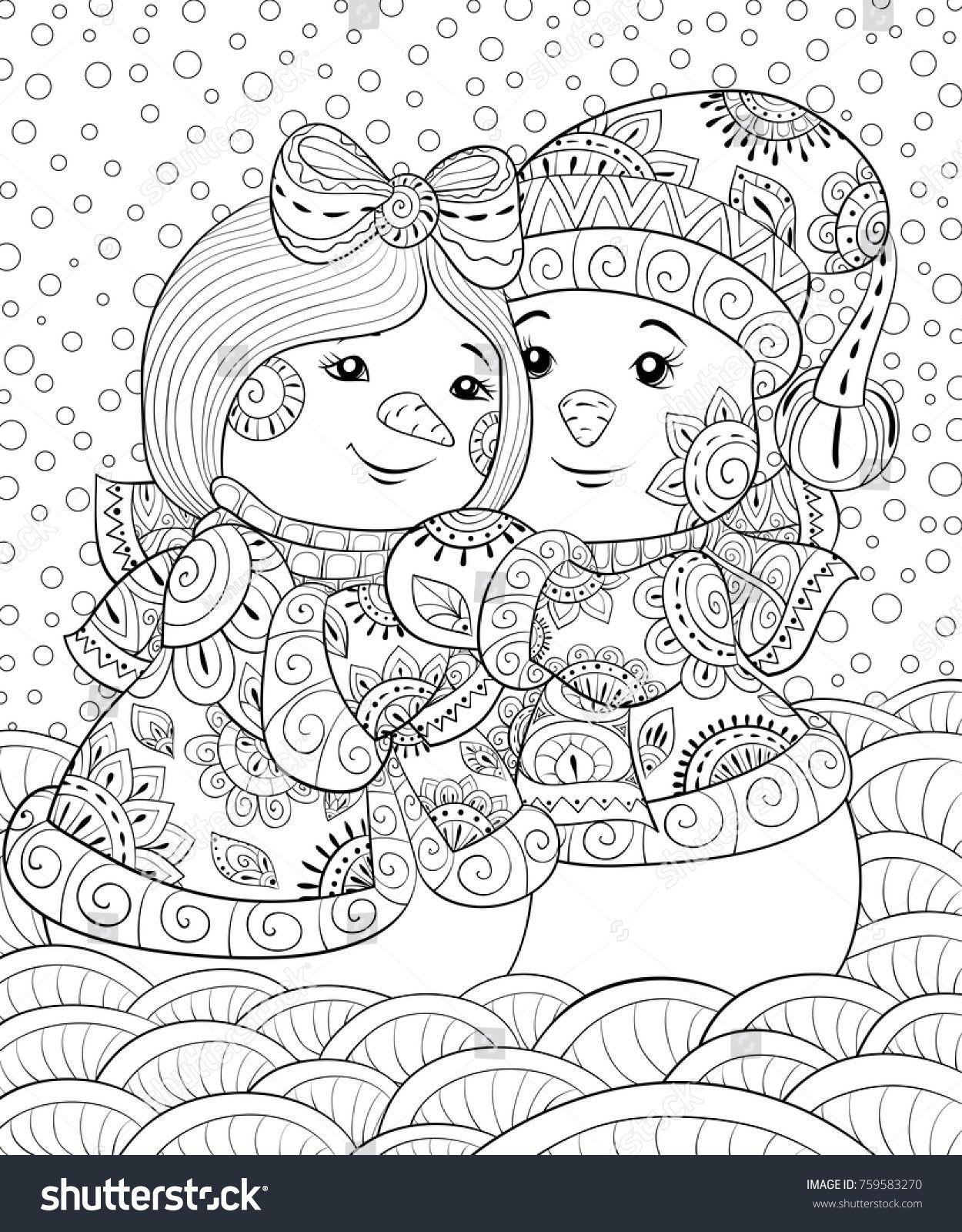Snowman Joy To The World Digital Download Christmas Coloring Etsy Christmas Coloring Sheets Snowman Coloring Pages Christmas Coloring Pages