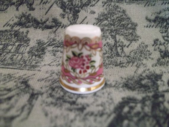 Hammersley Collectable Thimble - Fine Bone China