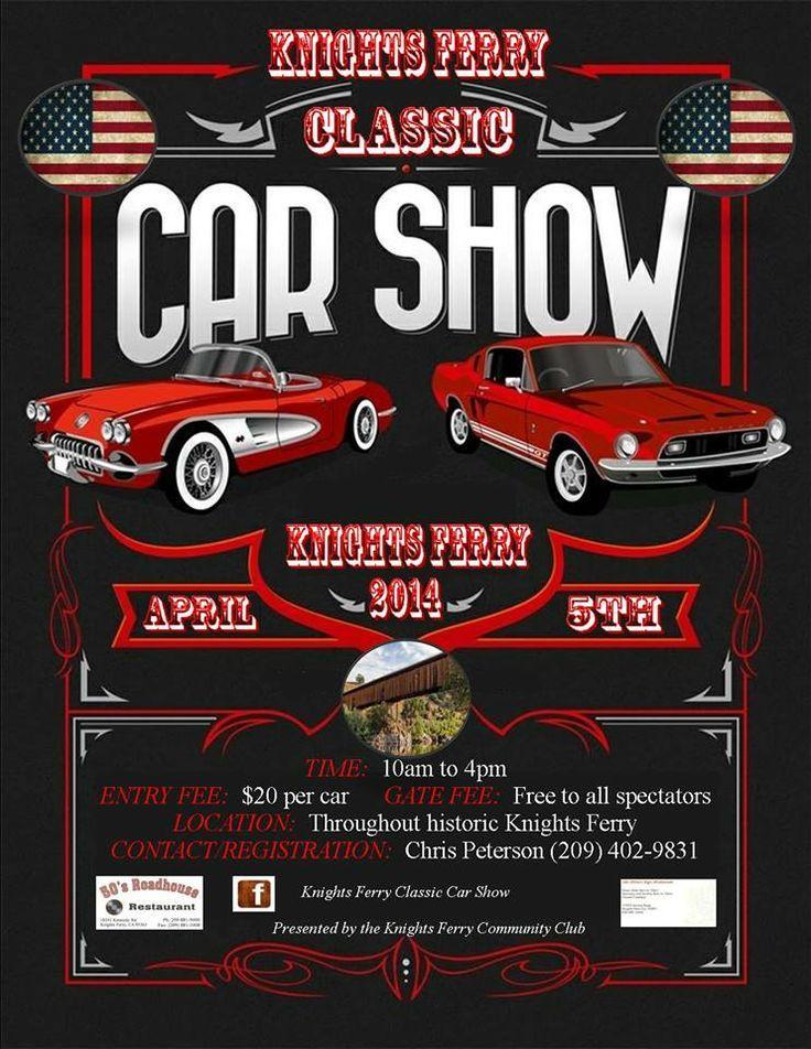 Car Show Flyer Poster