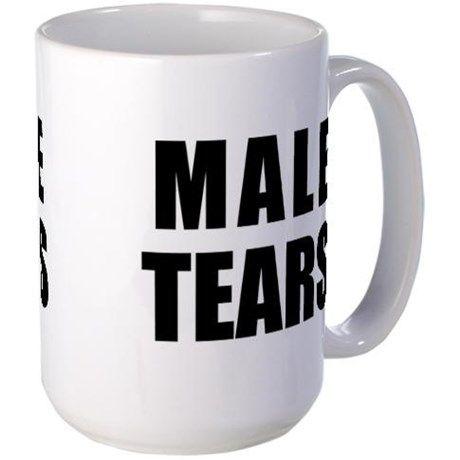 Male Tears Large Mug Mugs