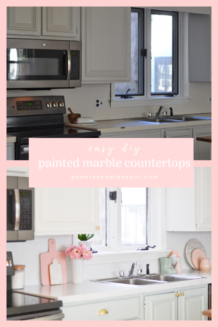 Painted Marble Countertops Diy Marble Painted Countertops Cbt Interior Diy Crafts