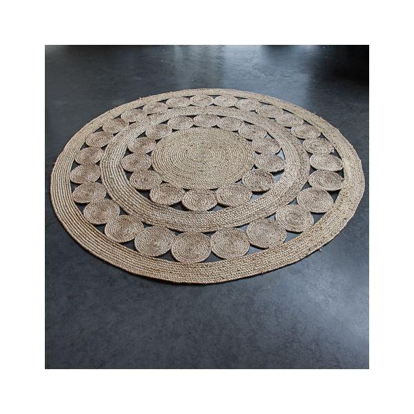 tapis de jute diam tre 180 cm le rep re des belettes jute pinterest jute. Black Bedroom Furniture Sets. Home Design Ideas