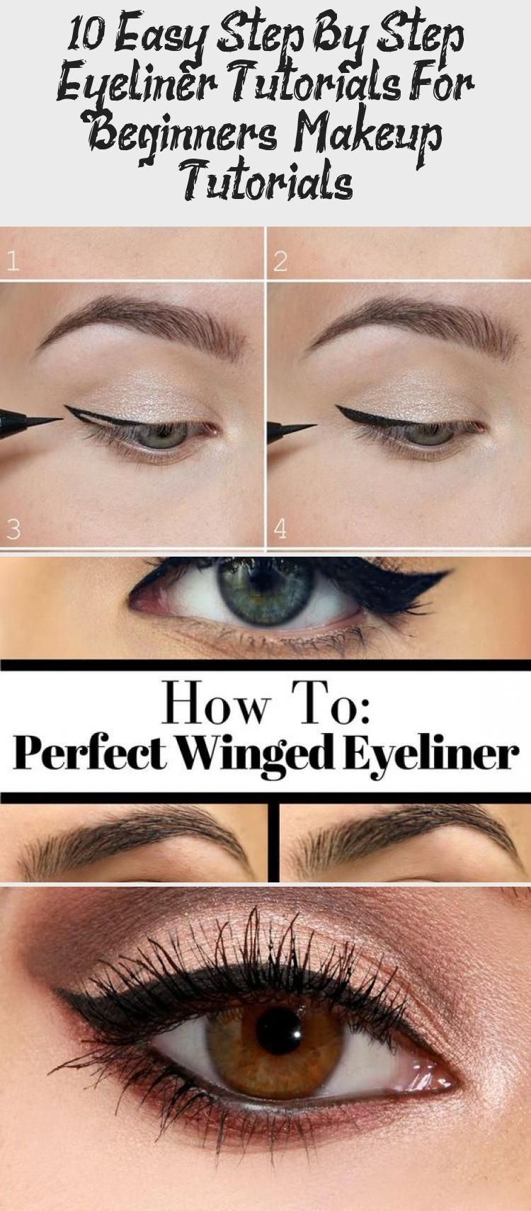Photo of 10 Easy Step By Step Eyeliner Tutorials For Beginners – Makeup Tutorials – Make-Up