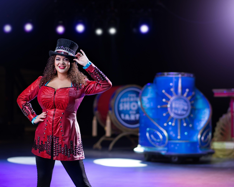Jenni Rivera en un circo? (FOTO)