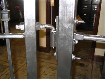 Ornamental Wrought Iron Fence Installation Manual | Latches