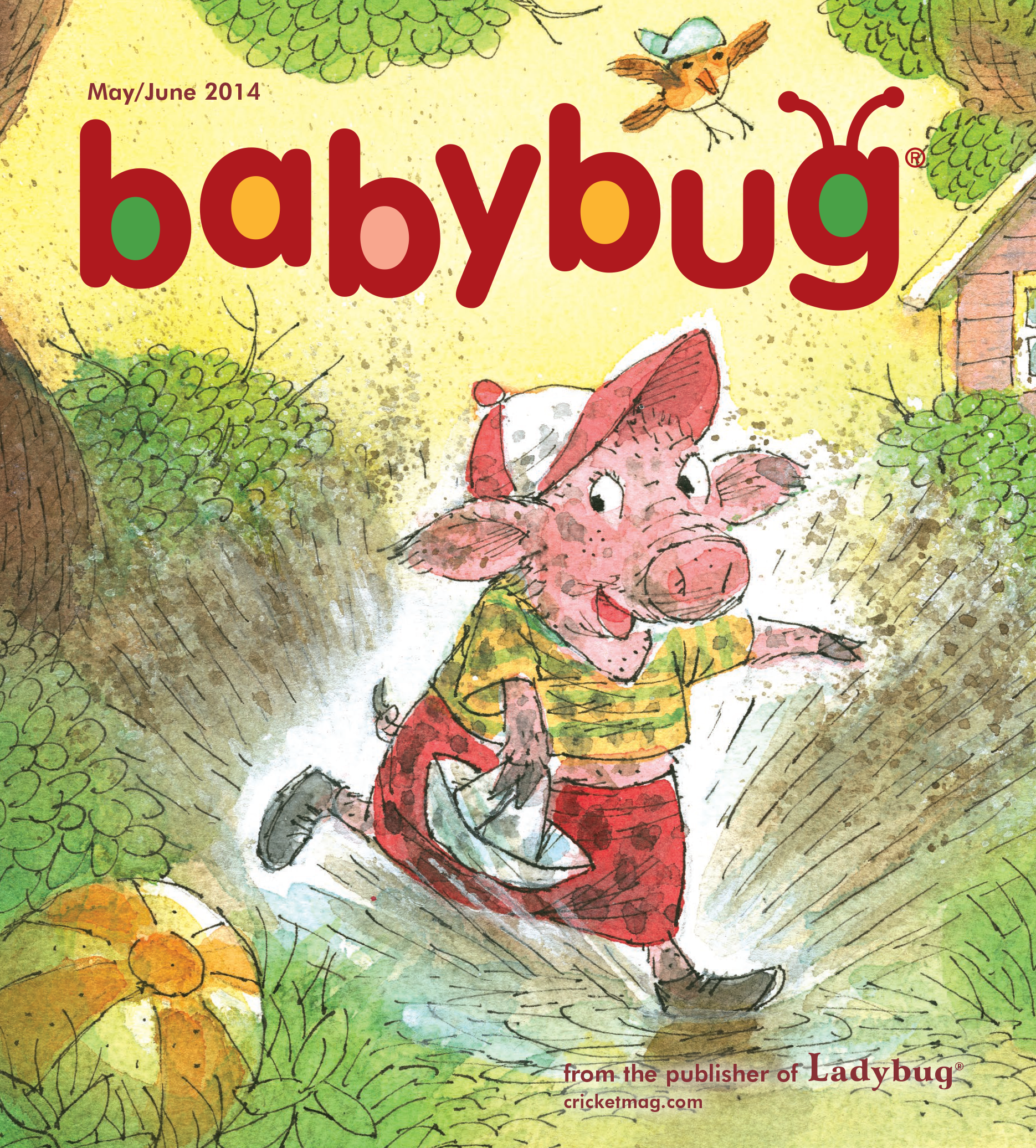 Babybug magazine cover, by Valeri Gorbachev on May/June 2014 ...