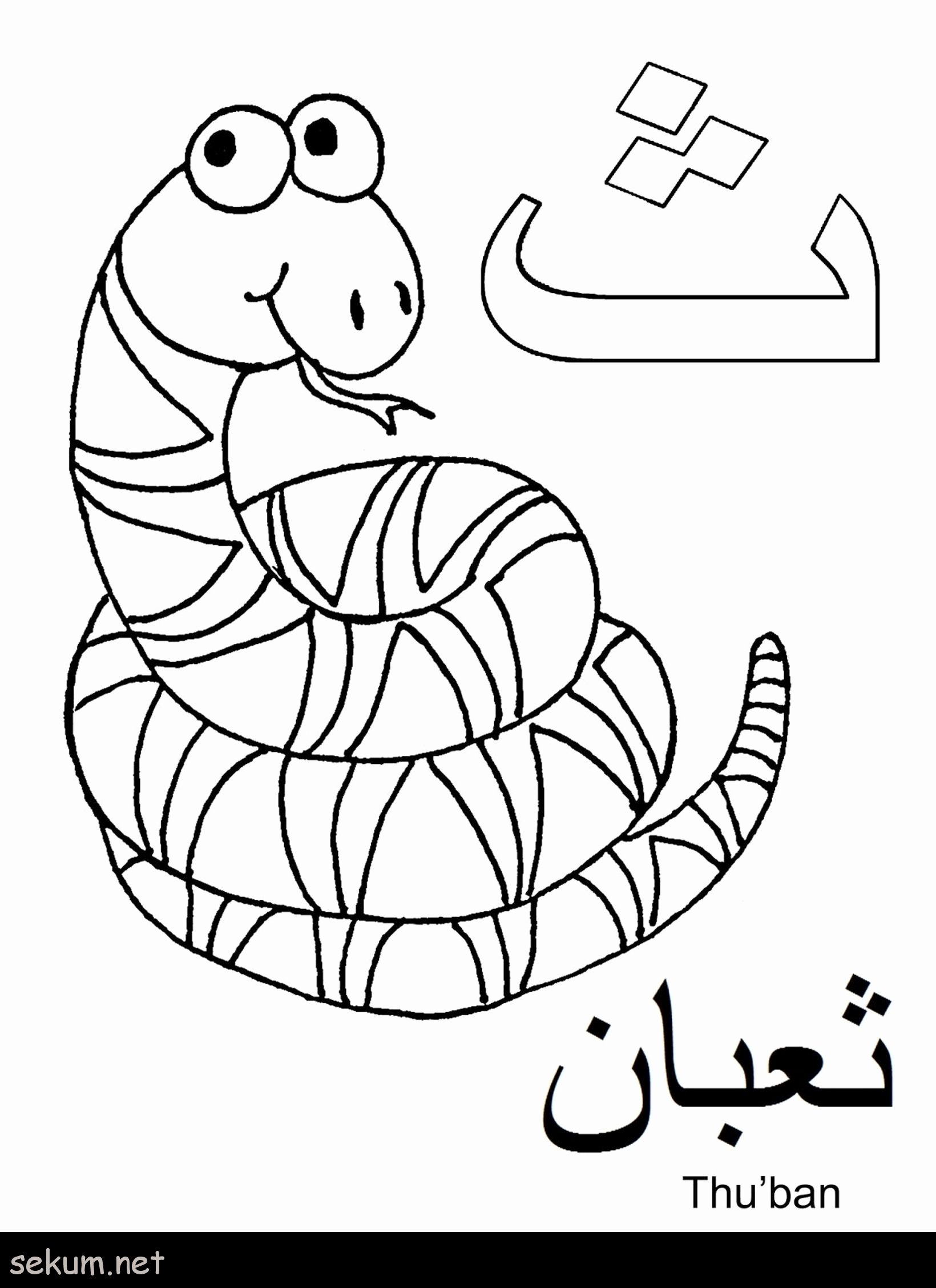 - Alphabet Coloring Pages Pdf In 2020 (With Images) Arabic