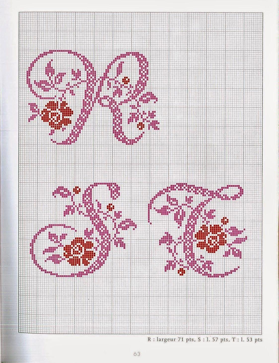 Blog dedicato al punto croce con mille schemi gratuiti for Ricamo punto croce lettere