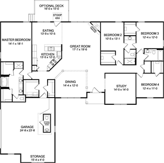 The Brookwood C House Plan For Gainesville Ga Custom Home Plans House Plans Brookwood
