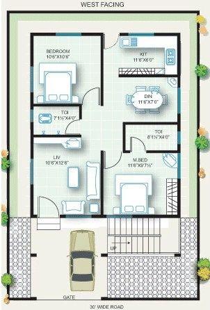 plan de maison 20 x 30